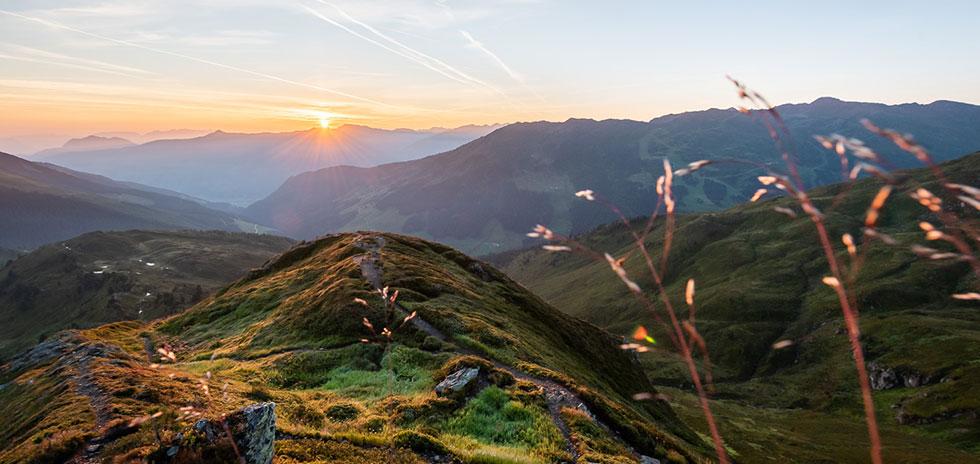Gilfert Bergtour Tuxer Alpen