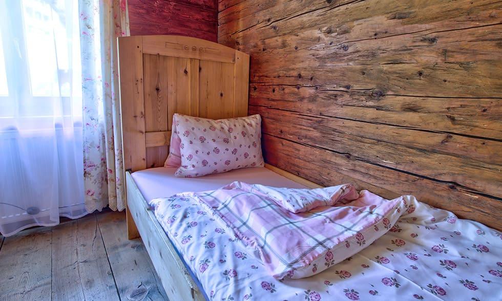 Fichtenzimmer Kinderbett