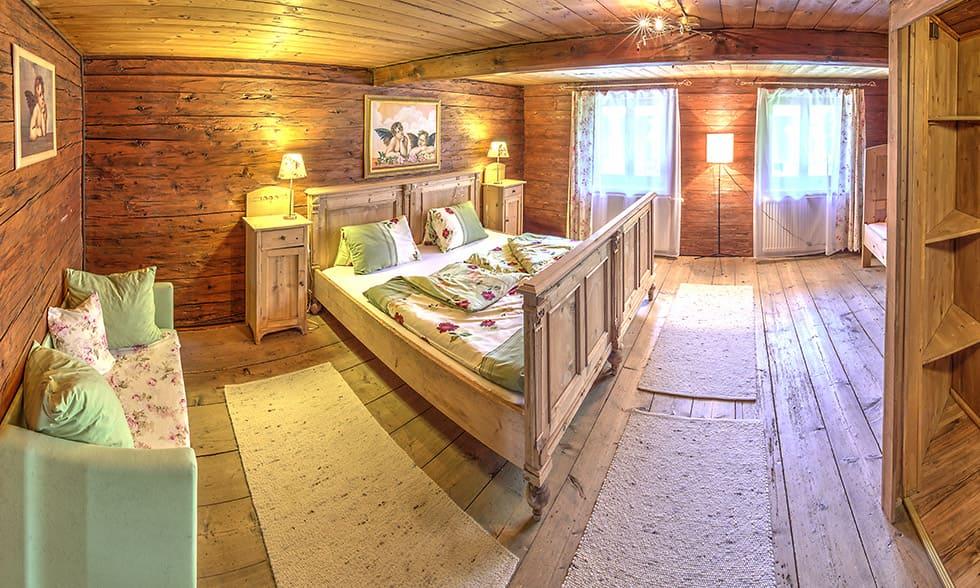 spruce wood room