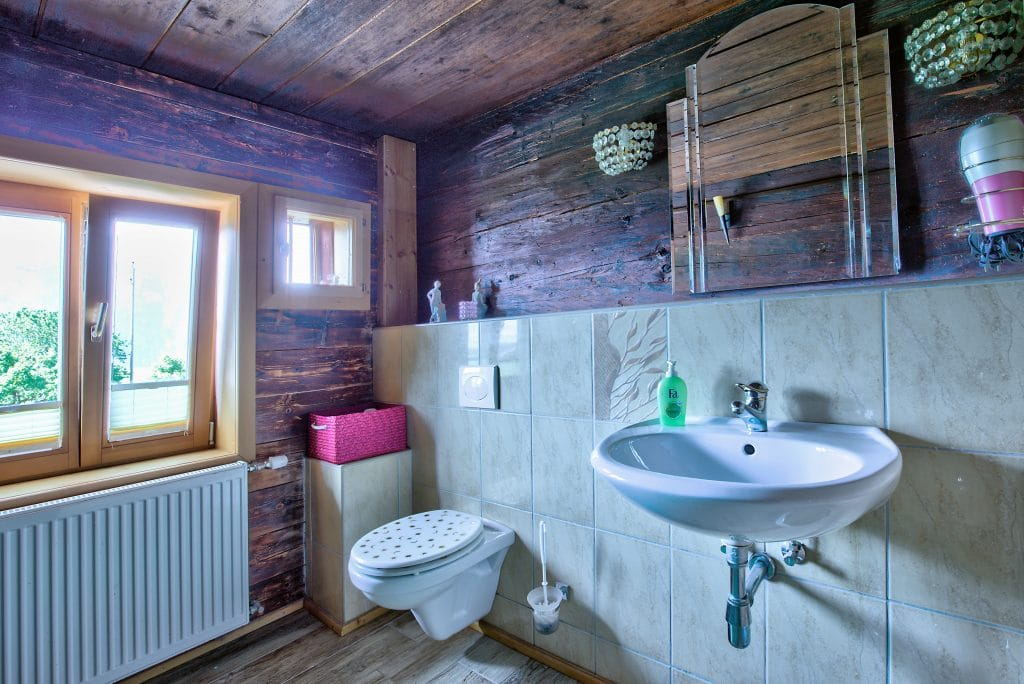 Rastenhof Badezimmer